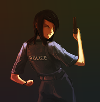Police officer by Butjok