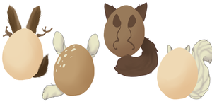 Egg Adopts:Closed: by LuLuChien