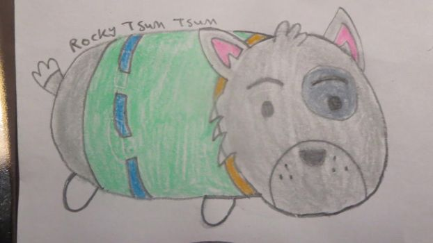 Rocky Tsum Tsum by Codetski101