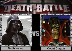 Death Battle: Darth Vader VS Count Dregon by VoyagerHawk87