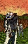 Aden the Grey in the Prehistoric Cybersphere by Whitsteen