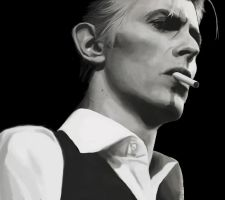 Thin White Duke by loladrawsthings