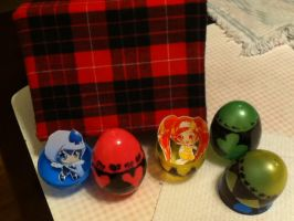 My Shugo Chara Pouch and Eggs by MysteriousAmulet