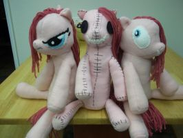 The Pinkamena Dolls by charletothemagne