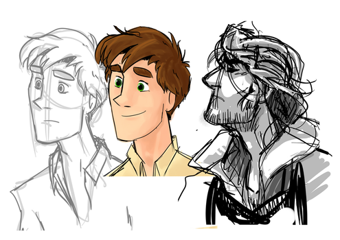 The Valiard Mansion fanart sketches woot by DPPHAN