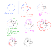Wolf tutorial by afoxen