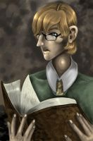 A Weasley and his Reading by Buuya