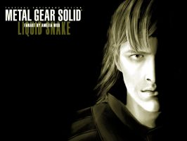 Liquid Snake Face of Darkness2 by Earthdin