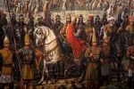 Mehmed II Around Constantinople With Army 1453 by eduartinehistorise