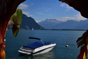 Montreux.Lake Geneva by Keitrina