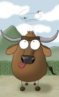 Ron - The Water Buffalo by arkaine