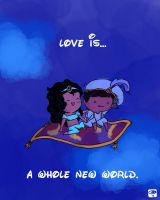 A Whole New World by packAndwhite241993