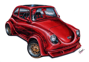 Subaru 360 Kaido by vsdesign69