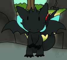 Toothless (day 13) by BigFootJake