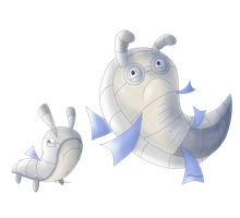 Silver Fish FAKEMON by Weyard