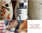 Space Droids (WIP) by NerdHypeCrafts