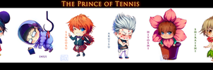 Prince of Tennis chibi pack by AkubakaArts