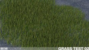 Grass Test 2 by Eonn