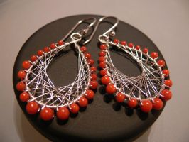 Peruvian silver earrings by irineja