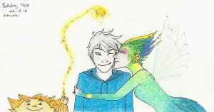 RotG - Mistletoe by honest-liar-13