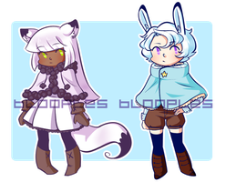 Adopts 01 - Winter Animals [OPEN] by blooples