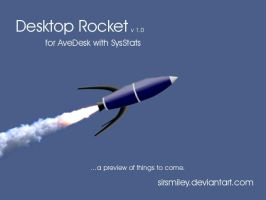 Animated Rocket for AveDesk by SirSmiley