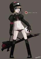 Low leg army lolita by dcwj