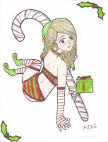 holly the Elf by thefullmoonslave