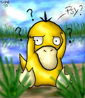Confused Psyduck by pdutogepi