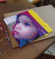 perler beads portrait photo by darthmagician