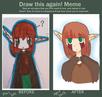 Draw This Again Meme by mistwolf98