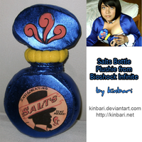 Bioshock Infinite Salts Bottle Plushie by kinbari