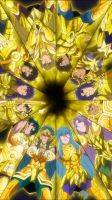 Golden Saint - Saint Seiya Soul of Gold by Bluerathy-S