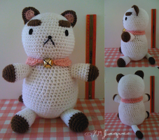 Crochet Puppycat (FREE PATTERN IN DESCRIPTION) by PokeMasterJaques