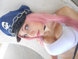 Poison Street Fighter Cosplay by portgasann