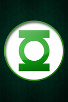 Green Lantern iPhone Wallpaper by ariimage