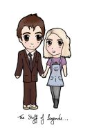 Doctor And Rose- The Stuff of Legend by Hatters-Workshop