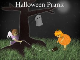 Halloween Prank by FlirtingWithInsanity