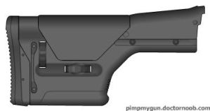 My Magpul Precision Rifle Stock 2 (Alternative) by Scarlighter