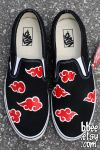 Naruto Akatsuki Shoes by BBEEshoes