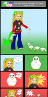 A duck comic by AilwynRaydom