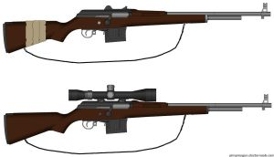 Bolt Action Hunting Rifle by ExtendedProject