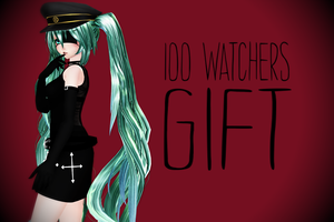 + 100 watchers gift! + DL + by BirdsSongs
