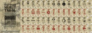 Full Set of Tattoo Poker Card by 540