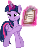 Twilight's not impressed with you by davidsfire