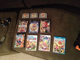 my complete Mario Party collection updateded by sonicfan40