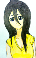 Another Long Haired Rukia by CutieTea