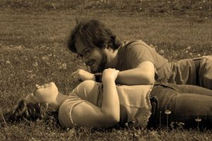 Sepia Young Lovers by andrewsgirl123