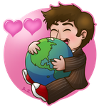I Love Earth v2 by beffles