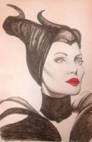 Maleficent Sketch 2 by lerod2
